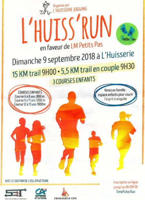 course a pied 8 septembre 2018
